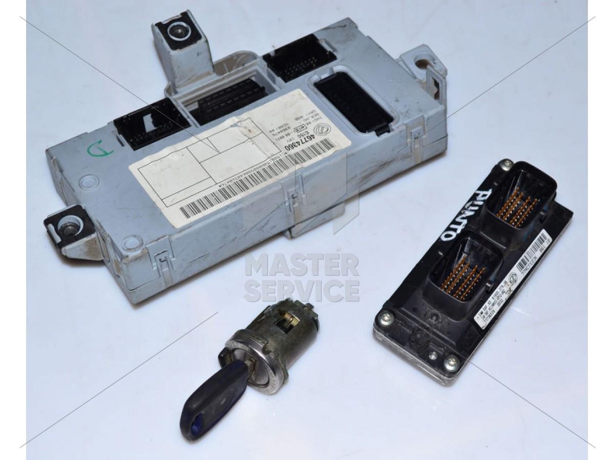 Блок управления двигателем 1.2 для FIAT Punto 2000-2003 46808846, 46820323, 55181132, 71736339, 73501283, IAW59FM3