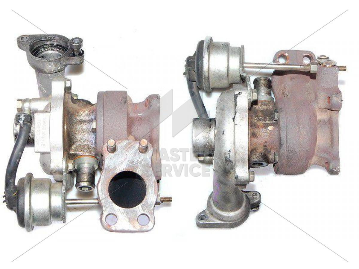 Турбина 1.4 для Ford Fiesta 2002-2009 1348618, 1488986, 2S6Q6K682AA, 2S6Q6K682AD, 54359700007, 54359700009, 54359710009, 9643574980