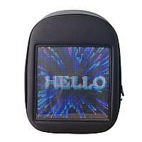 LED Backbag USB WiFi GPRS APP Control Рюкзак с двумя плечами Сумка Мобильный рекламный щит Реклама - 1TopShop