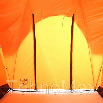 Палатка туристическая 68005 (235*190*100 см), 3-местная, антимоскитная сетка, сумка, фото 2