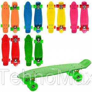 Скейт Пенни борд (Penny board) 0848 (6 цветов)