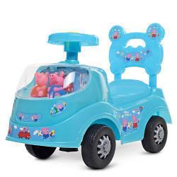 Машинка толокар детская каталка Bambi 228-4 PP Свинка Пеппа