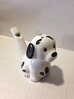 Свистулька керамическая Собака далматинец