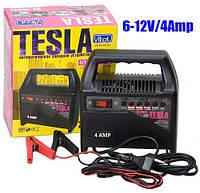 TESLA ЗУ-10641 Зарядное устр-во 6-12V/4A/10-60AHR/светодиодн.индик.