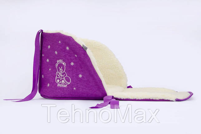 Матрасик для санок Baby Breeze 0301 (сирень), фото 2