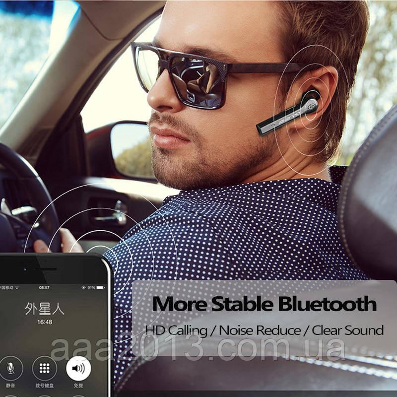 Bluetooth гарнитура OVLENG на 2 телефона , Беспроводной наушник, музыка