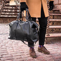 Мужская кожаная сумка Dovili Milano, фото 1
