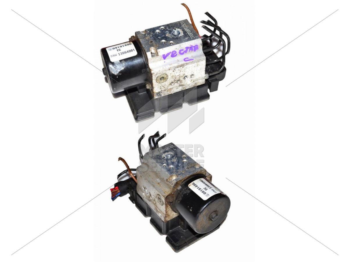 Блок ABS для OPEL VECTRA C 2002-2008 09191496, 13664001, 54084676A, 5530113