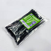 Хомут пластиковый OPTIMA 4 х 300 (стяжка нейлоновая для кабеля), фото 3
