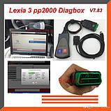 Диагностический сканер Lexia-3 V7.83 Citroen/Peugeot, фото 2
