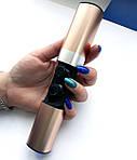 Wi-pods S2 Bluetooth наушники беспроводные водонепроницаемые с зарядным чехлом-кейсом GOLD, фото 3
