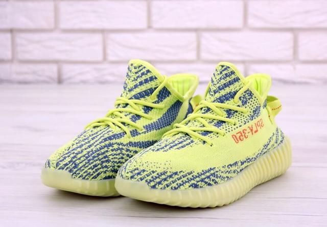 Adidas Yeezy Boost 350 Yellow фото