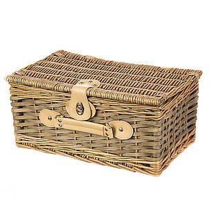 Плетёная корзина для пикника на 2 персоны (026PPN), фото 2