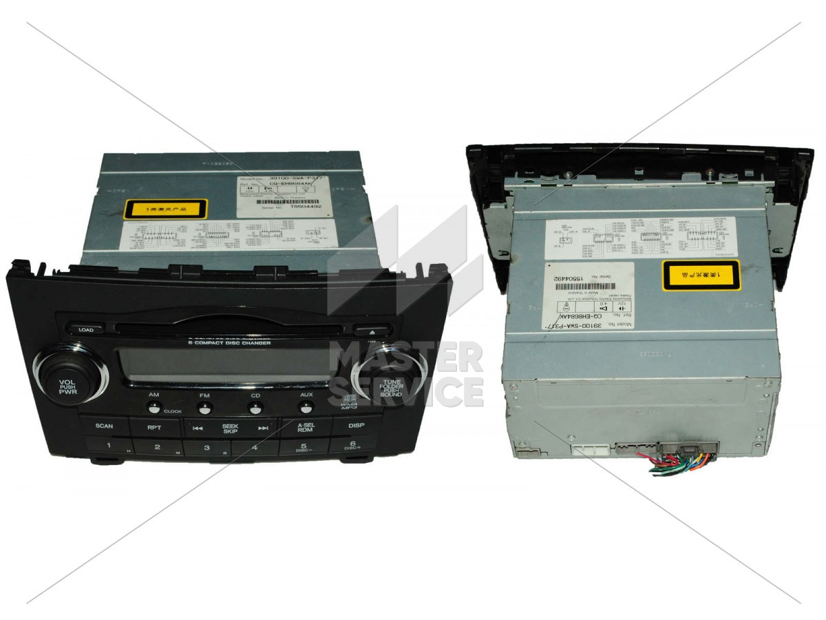 Магнітола для Honda CR-V 2007-2012 39100SWAP317, 39100SWAP318, 39106SWAP31 + 39107SWAP31