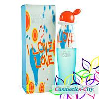 Женская туалетная вода Moschino Cheap and Chic I Love Love