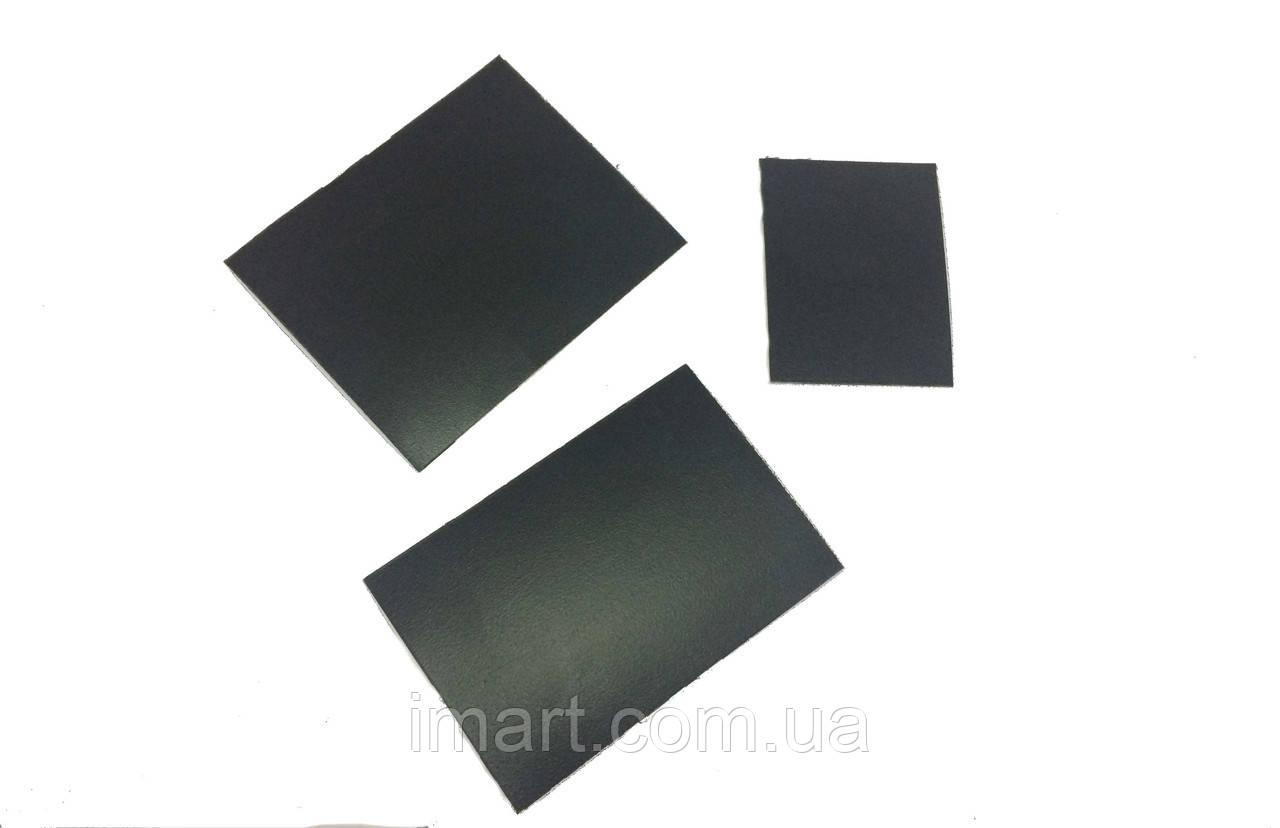 Магнитный меловой ценник А8 5х7 см. Комплект 100 шт. Надписи мелом и маркером. Грифельная табличка