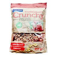 Мюсли Crownfield Crunchy Клубника