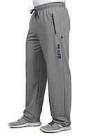 Трикотажные мужские спортивные брюки , штаны весенне-летние , деми  , р-р 58-60