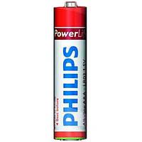 Батарейка  AAA LR-03 PowerLife 1x4, PHILIPS