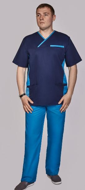 Мужской медицинский костюм Орест