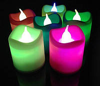 Led  мерцающая лампа с имитацией пламени Noblest Art  для баров, кафе, событий  5*4,5 см  (LY3070)