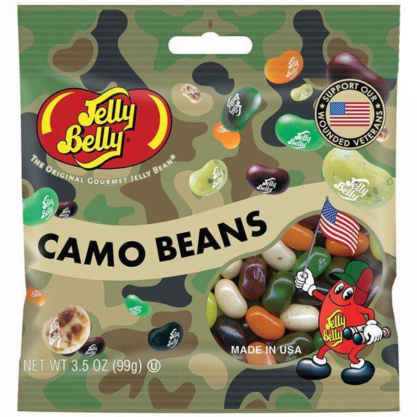 Желейные бобы Jelly Belly Camo Beans
