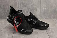 Мужские кроссовки текстильные весна/осень черные Aoka Supr A 270 -2, фото 1