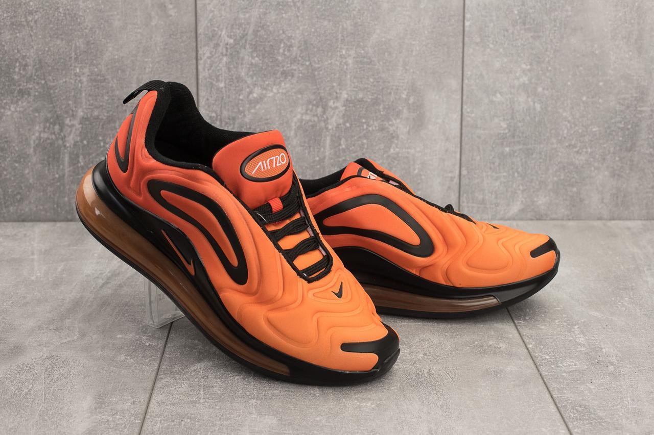 Мужские кроссовки текстильные весна/осень оранжевые Ditof A 1154 -9