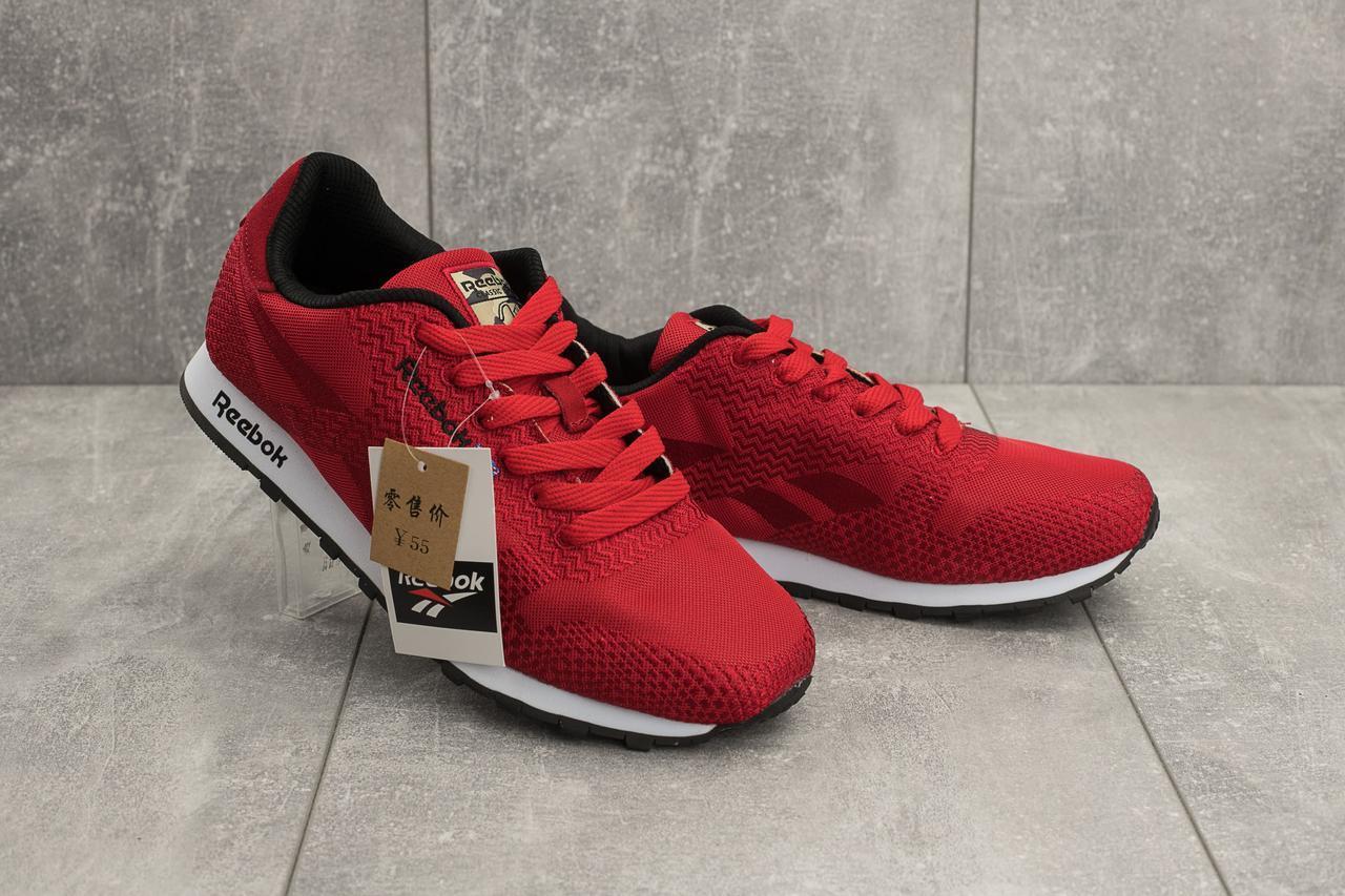 Мужские кроссовки текстильные весна/осень красные Ditof A 061 -48 T