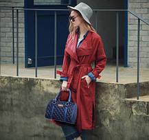 Стильний стьобаний набір жіночих сумок 6в1, фото 2
