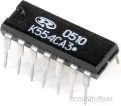 К554СА3А DIP14 - компаратор напряжения