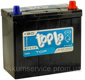 Аккумулятор автомобильный Topla Top Asia 45AH R+ 400A (54523)