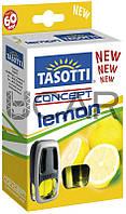 Tasotti Concept Lemon Ароматизатор гелевый на воздухозаборник, 8 мл (63586)