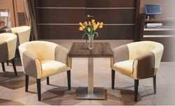 Мягкие кресла для Кафе (деревянные)