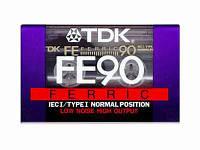 Аудиокассеты TDK FE90 Normal Position
