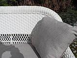 Садові меблі з штучного ротангу. Набір АДА, фото 6