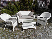 Садові меблі з штучного ротангу. Набір АДА, фото 1