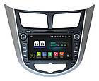 Автомагнитола штатная Hyundai Accent 2011+ AHR-2487 Bluetooth, модуль WiFi и 3GAndroid 4.1, фото 2