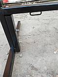Штендер, мимоход, спотыкач, наружная реклама РАЗБОРНОЙ 750*500mm ЧЕРНЫЙ!, фото 6