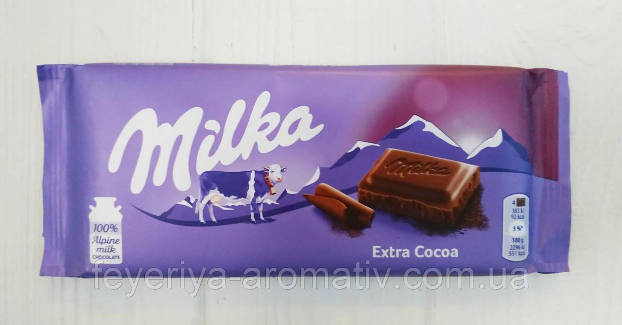 Шоколад Milka (Швейцария) Extra Cocoa