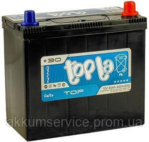 Аккумулятор автомобильный ToplaTop Asia MF 55AH R+ 540A (55523/84 SMF)