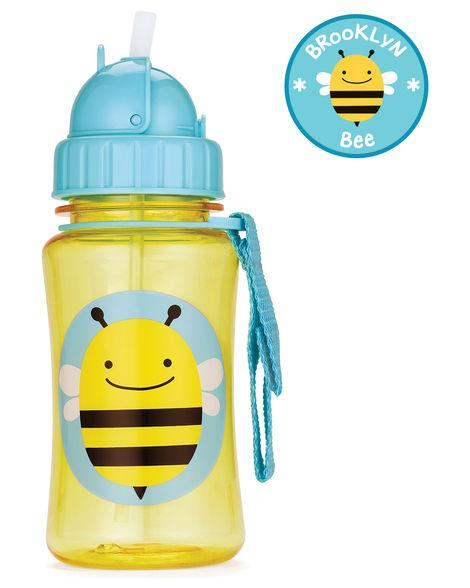 Бутылочка поильник с трубочкой Пчелка Скип Хоп Skip Hop Zoo Straw Bottle