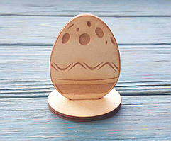 Заготовка для росписи. Яйцо пасхальное. Пасхальная подставка