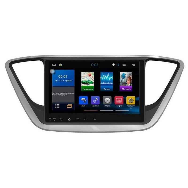 """Штатна автомагнітола Hyundai Accent 2017+ AHR-2469 головний пристрій 9"""" Android 5.1"""