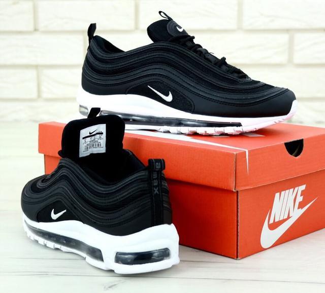 Nike Air Max 97 Black White фото