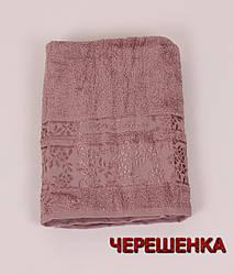 Махровое полотенце банное CESTEPEBUKET (150*90) Пурпурный