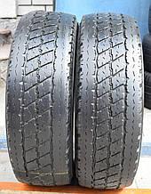 Шины б/у 215/70 R15C Bridgestone Duravis, ЛЕТО, 6-7 мм, пара