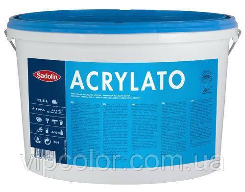 Sadolin SILICONE ACRYLATO 12л DU2 фасадная акриловая матовая краска
