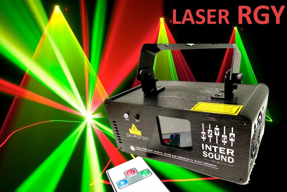 Лазерний проектор для дискотек с Пультом ДУ RGY DMX512