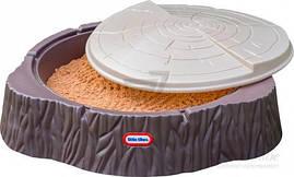 Песочница с крышкой Little Tikes Лесной пенек 644658E3